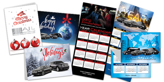 Full Color Holiday Cards and Z Fold Calendars