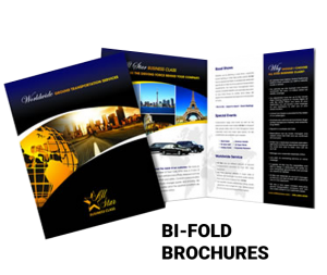 Full Color Bi-Fold Brochures