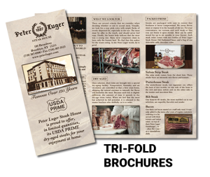 Full Color Tri-Fold Brochures
