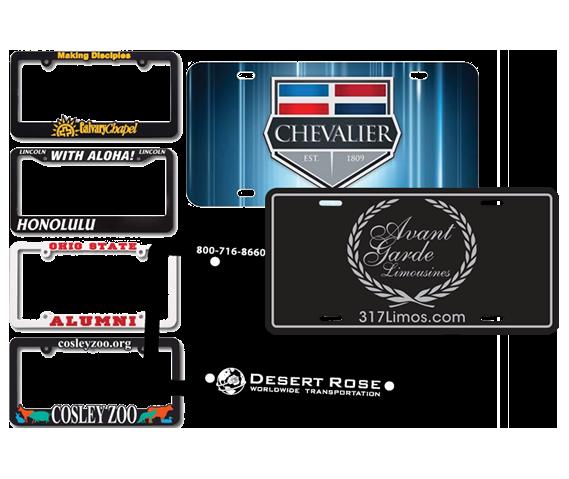 Custom Licesne Plate Frames