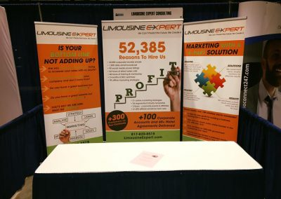 Retractable Banner Booth